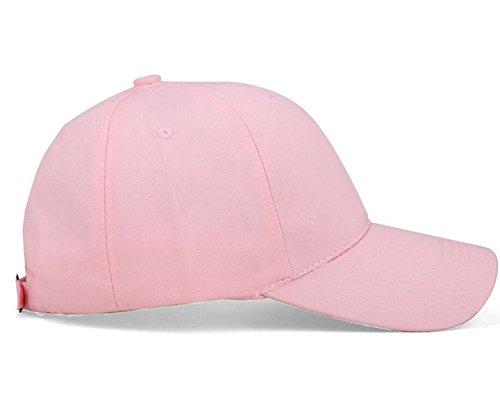 Casquette De Base-ball De Mode Mme Hommes Printemps Enfant Extérieur Chapeau De Soleil Sauvage Casquette Décontractée Printemps pink