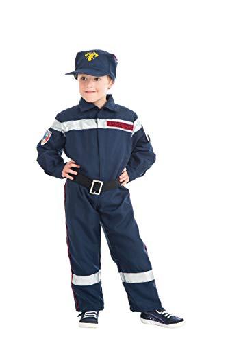 4 Ans Kostüm Pompier - Déguisement sapeur-pompier enfant--3 à 4 ans