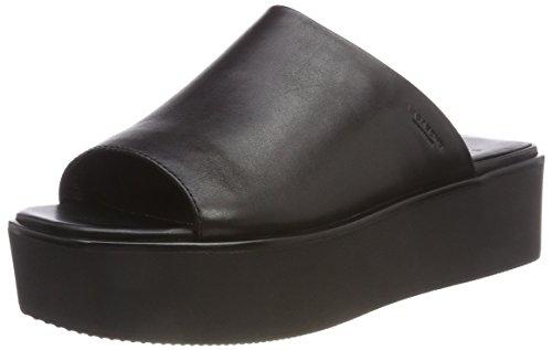 Vagabond Damen Bonnie Plateausandalen, Schwarz (Black), 36 EU (Front-peep-toe)