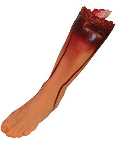 sches Bein Links aus Vinyl Halloween, Film- Theater Requisite ()