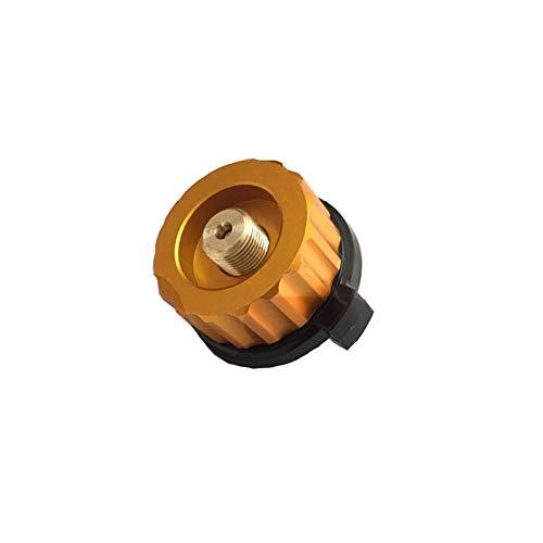 1PC Campingkocher Adapter Gas Conversion Kopfadapter für Butan Kanister Schraube Gaskartusche Ventil-Adapter