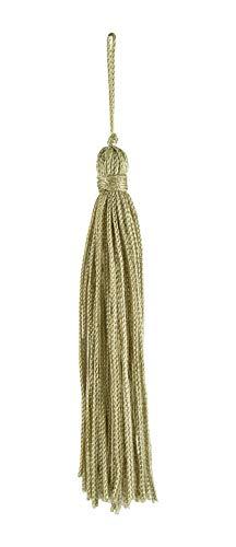 Set von 10Salbei Chainette Quaste, 10,2cm lang mit 2,5cm Loop, Basic Rand Collection Stil # RT04Farbe: salbei grün L83 -