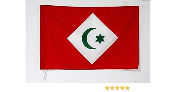 Drapeau du RIF 90 x 150 cm Fourreau pour hampe AZ FLAG Drapeau Rif ind/épendantiste au Maroc 150x90cm