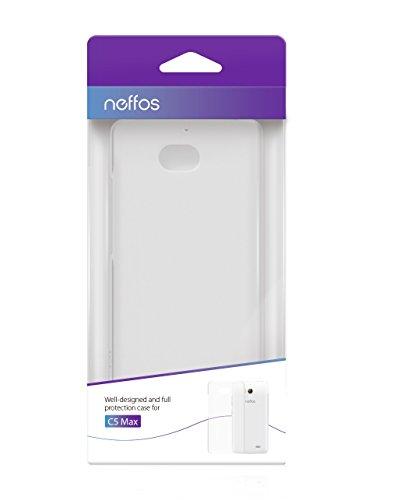 TP-Link Neffos C5 Max Schutzhülle klar, transparent, Case, Cover, Soft Cover