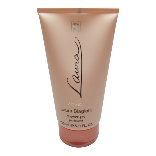 Laura Biagiotti Laura Rose femme / donna, Showergel, 150ml