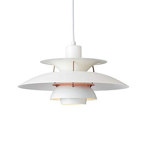 SUNA Moderner LED-Kronleuchter, Dänemark PH5 Classic Modern Minimalistischer Weißer Minimalismus,...