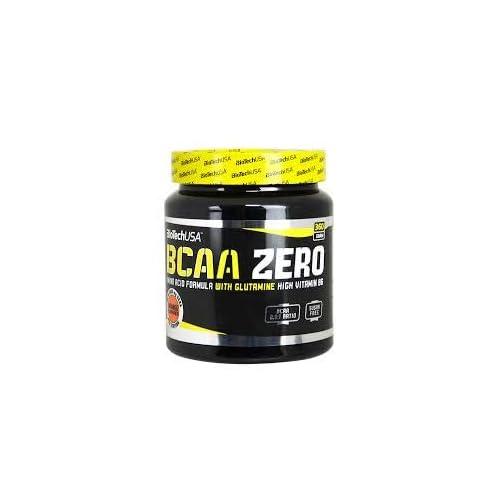 31OWM7eJULL. SS500  - Bio Tech USA BCAA Zero Supplement, 360 g, Orange
