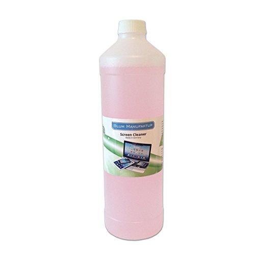 Preisvergleich Produktbild Blum - 1000ml Bildschirmreiniger Nachfüllflasche - Streifenfreie Reinigung aller Bildschirme / Displays - für Computer / Laptop / Tablet / TV / Smartphone ...