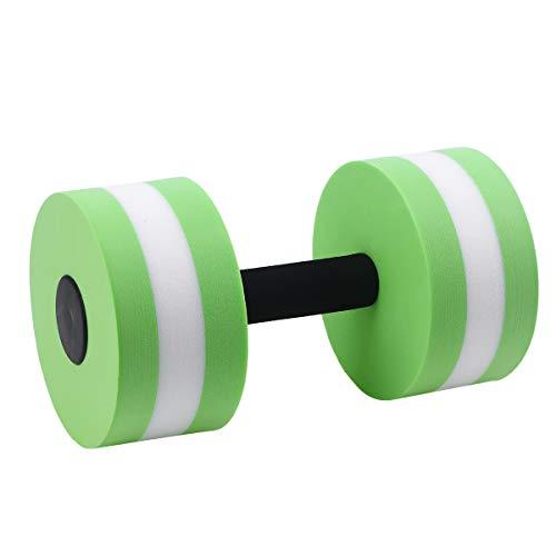 LIOOBO Dumbells per Esercizi Acquatici fornisce Resistenza per Il Fitness aerobico in Acqua e Gli Esercizi in Piscina
