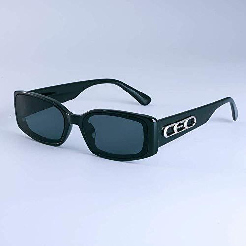 GFF Retro Rechteck Sonnenbrille Männer Frauen Mode INS Small Frame UV400 Vintage Brille 49027