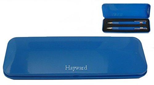 set-de-pluma-con-nombre-grabado-hayward-nombre-de-pila-apellido-apodo