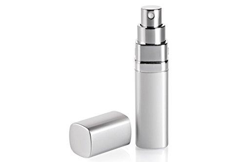 Vaporisateur de sac carré argent pour parfum 15ml