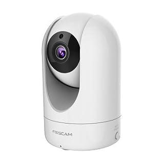 Foscam R2/W - Cámara IP de vigilancia de interior, 2 MP, función P2P, 1080p Full HD, H264, WIFI, ángulo 110º, color blanca (B0171VUSAC) | Amazon price tracker / tracking, Amazon price history charts, Amazon price watches, Amazon price drop alerts
