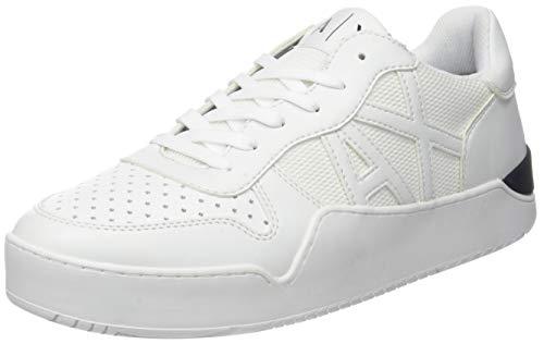 Armani Exchange Herren Low-top Sneaker, Weiß (Optical White 00152),  41 EU (7 UK)