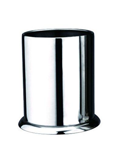Cozyle rond en acier inoxydable non-magnétique Baguette Tube Argent