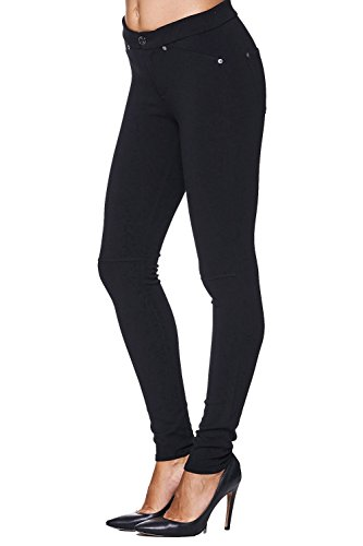 7 for all Mankind Stretch Hose TAILORED SKINNY Double Knit – Schwarz