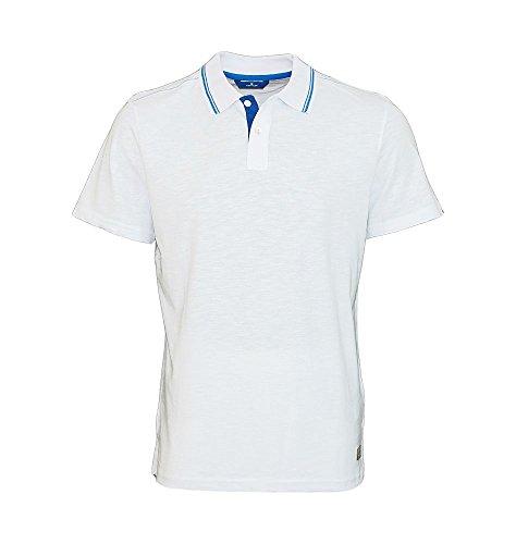 TOM TAILOR Polohemd Poloshirt Polo 1531084 0010 2000 Weiss S17-TTPO1 Größe 3XL