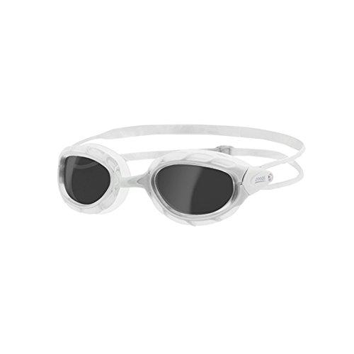 Zoggs Predator Gafas de Natación, sin Género, Blanco (White/Smoke), Talla única