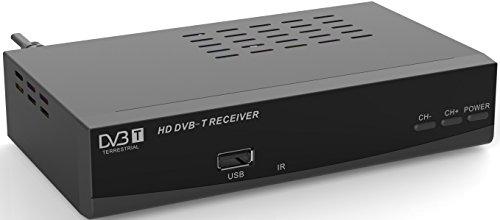 Denver 11442050 Receiver DTB-136H schwarz