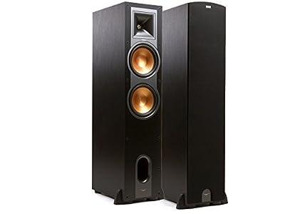 """Klipsch R-28F 150W Black loudspeaker - loudspeakers (Universal, 5-way, Floor, 2.54 cm (1""""), 20.3 cm (8""""), 2.54 cm) prezzo scontato - Polaris Audio Hi Fi"""