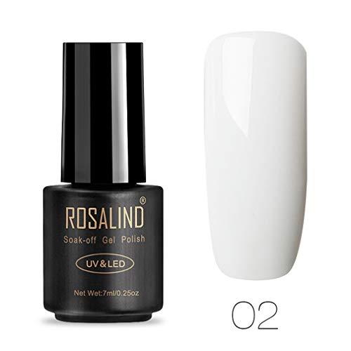 ROSALIND Esmalte de uñas de gel de 7 ml
