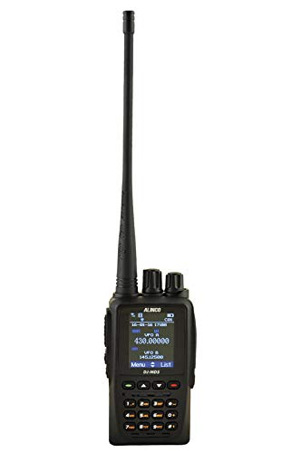 Alinco DJ-MD5 EPG Walkie Talkie Doble Banda UHF, VHF y Digital DMR