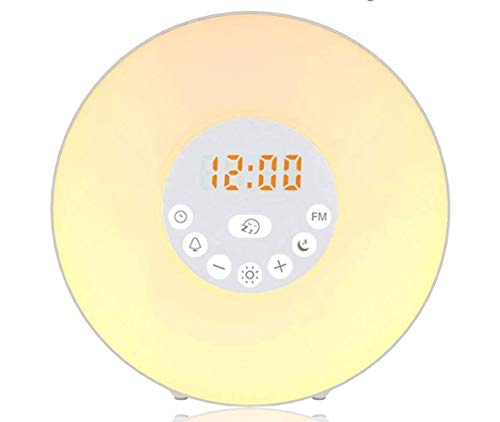 Led electronic alarm clock light Radio alarm light