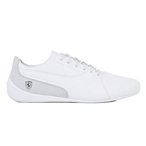 PUMA Ferrari Drift Cat 7 Lifestyle Herren Sneaker Puma White-Gray Violet 10.5