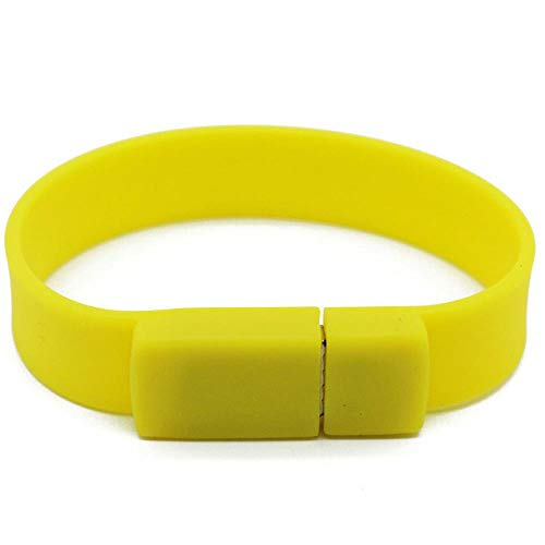 AJIAO USB-Armband Buntes Silikon-Armband-Handgelenk-Band 4Gb 8Gb 16Gb 32Gb 64Gb 128Gb USB-Blitz-Antrieb-Feder-Antrieb-Stock U-Scheibe