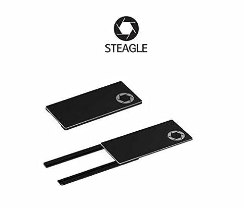 STEAGLE1.0 Laptop Webcam Cover for Privacy Shield (Black)