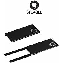 steagle1.0Cámara web para portátil, diseño de privacidad Escudo negro negro