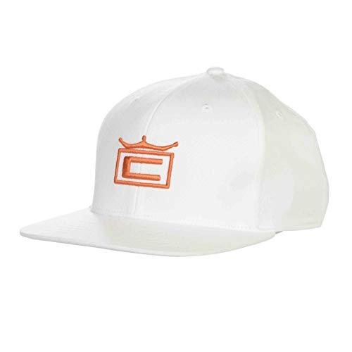 Cobra Crown Casquette Junior, Blanc/Orange