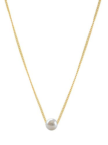 Popmode Pearl Gold-Plated Alloy Necklace for Women