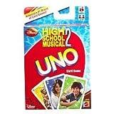High School Musical 2 Uno Card Game