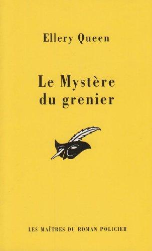 le mystere du grenier par Ellery Queen