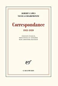 Correspondance: par Albert Camus