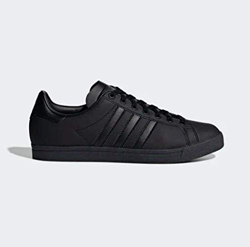 adidas Herren Coast Star Sneaker, Schwarz Core Black/Grey 0, 44 2/3 EU - Black Star Schuhe
