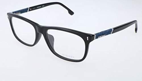 Diesel Herren DL5157 001-58-17-150 Brillengestelle, Schwarz, 58