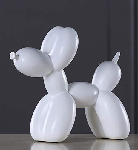 RWJFH Statue American Pop Art Harz Handwerk Ballon Hund Figur Statue Ballon Hund, Valentinstag (Pop-art-ringe-handwerk)