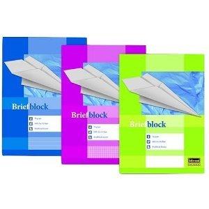 Briefblock DIN A 4 liniert