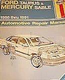 ford-taurus-mercury-sable-automotive-repair-manual-1986-1991-models-by-bob-and-john-h-haynes-henders