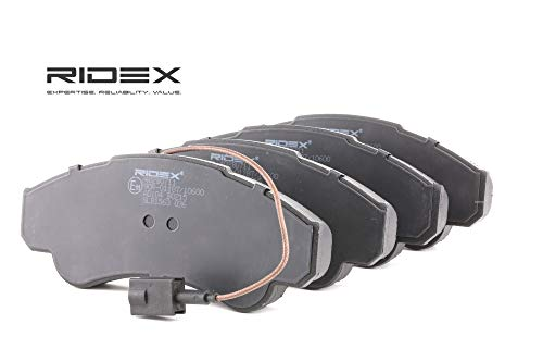 Ridex 402B0711 - Kit pastiglie freno a disco