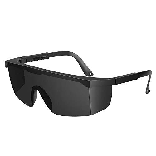 Auratrio Lichtschutzbrille Schutzbrille für die HPL/IPL Haarentfernung für Philip, Schwarz, Auratrio u.s.w (Schwarz)