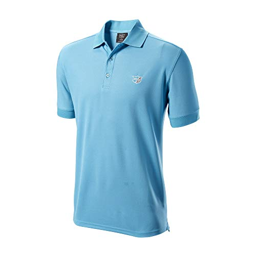 WILSON Authentic Polo Herren hellblau L