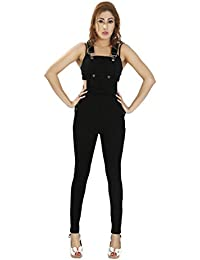 7579500c1e13 Amazon.in  Denim - Jumpsuits   Dresses   Jumpsuits  Clothing ...