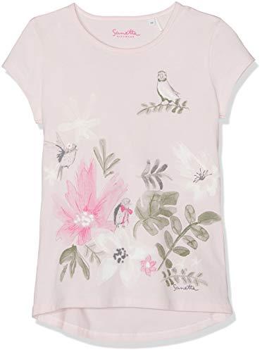 Sanetta Mädchen T-Shirt, Rosa (Shadow Rose 37052), 110 -