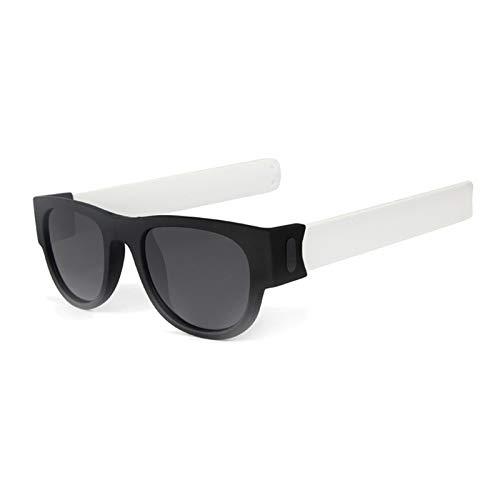 Lafeil Sportbrille Fahrrad Herren Damen Herren Faltbar Kreis Sonnenbrille Silikon Mode Falten Sonnenbrillen Männer Und Frauen Sonnenbrillen Weiß