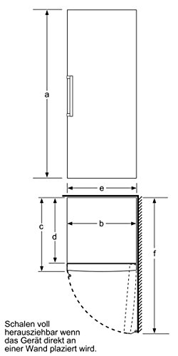 Bosch GSN36VL30 Serie 4 Gefrierschrank / A++ / Gefrieren: 237 L / Inox-look / No Frost / Super-Gefrieren - 7