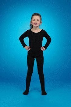Seamless Tights (black) Child Costume Accessory Size 10-14 Large by Peter Alan Inc