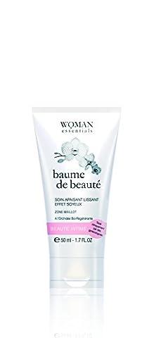 WOMAN ESSENTIALS - BAUME DE BEAUTE. Le 1er soin quotidien global de la zone intime. Apaisant, hydratant, régénérant, cicatrisant, embellisseur